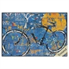 Propac Images 4974 BLUE GRAFFITI BIKE