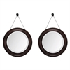 Propac Images 8151 Brown Mirror, Pack of 2