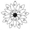 Propac Images 8179 METAL FLOWER