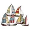 Propac Images 8204 METAL SAILBOAT