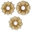 8208 Flower Mirror, Pack of 3