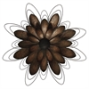 Propac Images 8229 METAL FLOWER