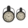 8252 Metal Timepiece, Pack of 2