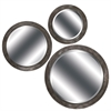 8291 Gunmetal Gray Mirror, Pack of 3