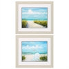 Propac Images 9078 Beach Scene, Pack of 2