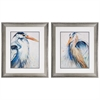 Propac Images 9086 New Blue Heron, Pack of 2