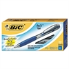 BU3 Retractable Gel Roller Ball Pen, Medium, .7mm, Blue, Dozen