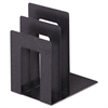 "Steelmaster Soho Bookend with Squared Corners, 5""w x 7""d x 8""h, Granite"