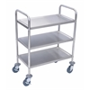 Stainless Steel Cart 3 Shelves