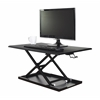 LVLUP32-BK Pneumatic Adjustable Desktop