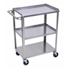 Stainless Steel 3 Shelf Cart