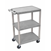 3 Shelf Gray Cart