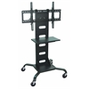 Luxor H. Wilson Mobile Black Flat Panel TV Stand & Mount