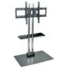 Luxor H Wilson Stationary Flat Panel TV Stand W/ Shelf and Mount