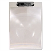 "Saunders MagBoard Clipboard, 1/2"" Capacity, Clear Plastic, Letter"
