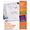Avery Top-Load Recycled Polypropylene Sheet Protector, Semi-Clear, 100/Box