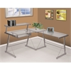 Picket House Furnishings Bueller Desk in Silver, Silver