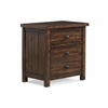 Picket House Furnishings Danner Night Stand, Chestnut