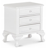 Jenna Night Stand, White