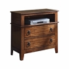 Picket House Furnishings Travis Media Chest, Light Brown