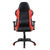 Picket House Furnishings Dale Gaming Office Chair, Black/Red