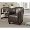 Picket House Furnishings Radford Accent Tub Chair, Brown