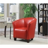 Picket House Furnishings Radford Accent Tub Chair, Red