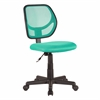 Picket House Furnishings Milley Office Task Chair, Teal