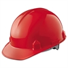 KIMBERLY-CLARK PROFESSIONAL JACKSON SAFETY SC-6 Head Protection, 4-pt Ratchet Suspension, Red