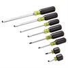 8-Piece 100 PLUS Screwdriver Set, Cabinet/Phillips/Slotted