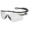 KIMBERLY-CLARK PROFESSIONAL V30 Nemesis VL Safety Glasses, Gun Metal Frame, Clear Lens