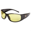 Elite Safety Glasses, Amber Anti-Fog Lens