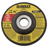 DeWalt DW4514 Type 27 Hi-Performance Metal-Grinding Wheel, 4 1/2 x 1/4, 7/8 Arbor Dia.