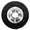 "Weiler Trulock TLM-10 Narrow-Face Crimped Wire Wheel, 10"" dia, .014 Wire, Arbor Dia: 2"""
