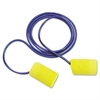 3M E-A-R Classic Foam Earplugs, Metal Detectable, Corded, Poly Bag