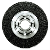 "Trulock TLN-8 Narrow-Face Crimped Wire Wheel, 8"" dia, .014 Wire, Arbor Dia: 2"""
