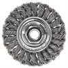 """Weiler Dualife ST-3 Twist Knot Wire Wheel, 3"""" dia, .014 Wire"""