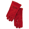 20GC Welding Gloves, Split Cowhide, 4in Cuff, Large