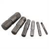 "6-Piece Pipe Extractor Set, No. 80 to 85, 1/8"" to 1"", Alloy Steel"