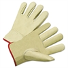 4000 Series Cowhide Leather Driver Gloves, XL