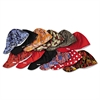 Deep Round Crown Cap, Size: 7 1/2, Assorted Prints