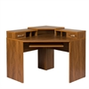 American Furniture Classics Corner Desk with Monitor Platform