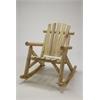 Log Rocking Chair - Natural