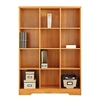 American Furniture Classics Large 12 Cube Storage Organizing Bookcase