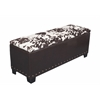 Cowhide Gun Concealment Bench
