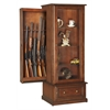 American Furniture Classics RTA-10 Gun/Curio Slider Cabinet Combination