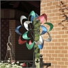 Colorful Petals Wind Spinner
