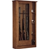 American Furniture Classics 10 Gun/Curio Cabinet Combination