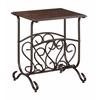 Glenwood Chairside Table w/Mag Rack