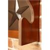 American Furniture Classics Lone Star 2 Gun Wall Rack